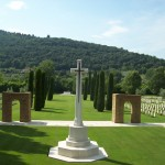 The cemeteries of the Second World War