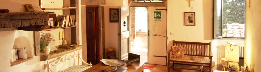 Self catering units for 2, 4 and 8 guests on a working farm in Barberino di Mugello