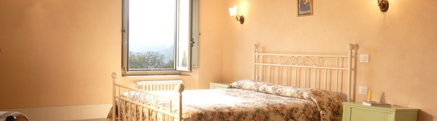 Rooms in Agriturismo with breakfast