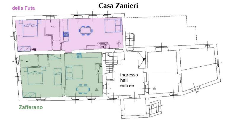 Piantina casa Zanieri